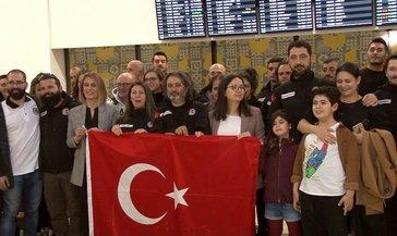Antartika'daki Türk bilim adamları Türkiye'ye döndü
