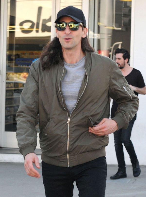 Adrien Brody'i görenler hayrete düştü