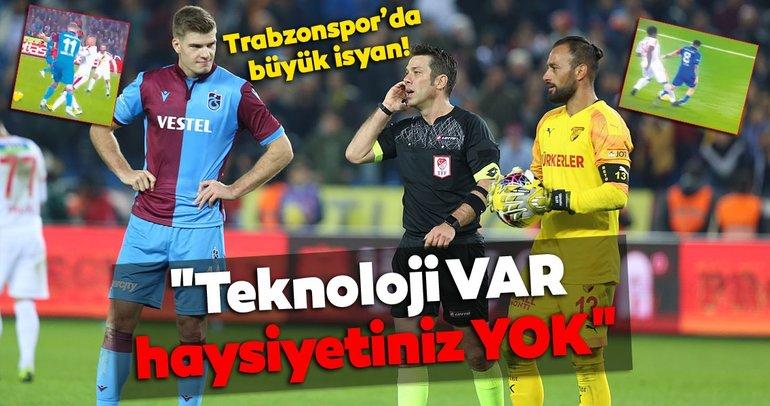 Trabzonsporda isyan! Teknoloji VAR haysiyetiniz YOK