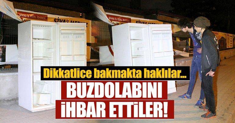 Son dakika: Sivas'ta şüpheli buzdolabı ihbarı yüzleri güldürdü