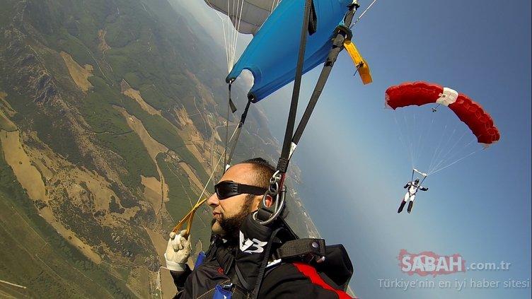 Hayko Cepkin'den dünyada bir ilk! Zeytinli Rock Festivali'ndeki konserine paraşütle inecek