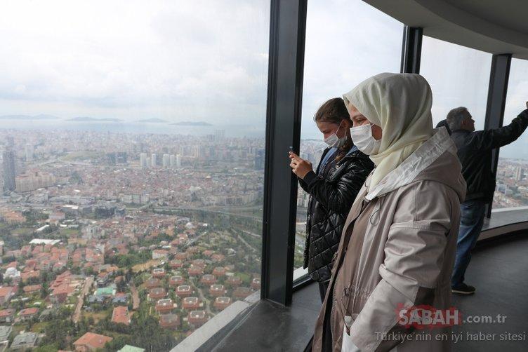 Çamlıca Kulesi kapılarını ziyaretçilere açtı: Ömür boyu bu anı unutmayacağız