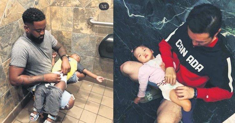Babalar da bebek bakım odası istiyor