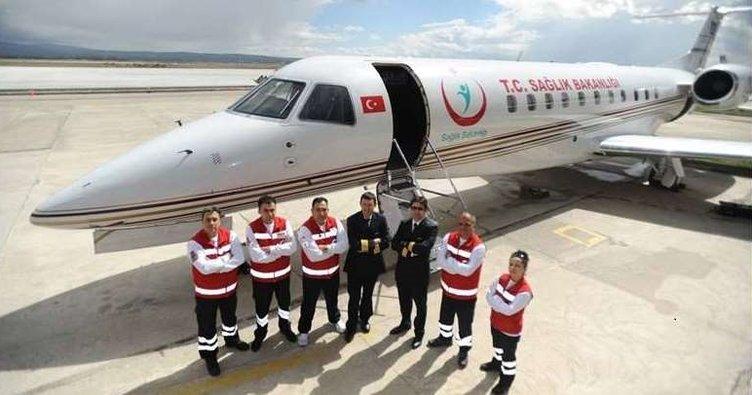 hava ambulans uçak ile ilgili görsel sonucu