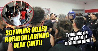 Samsunspor - Denizlispor maçından sonra olay çıktı!