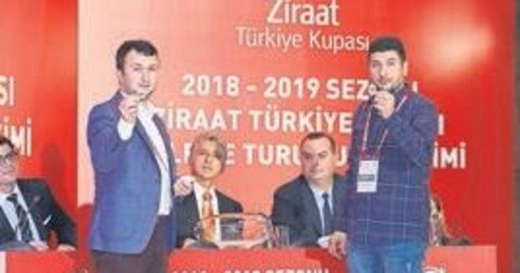 Türkiye Kupası'ndaki rakipler belli oldu