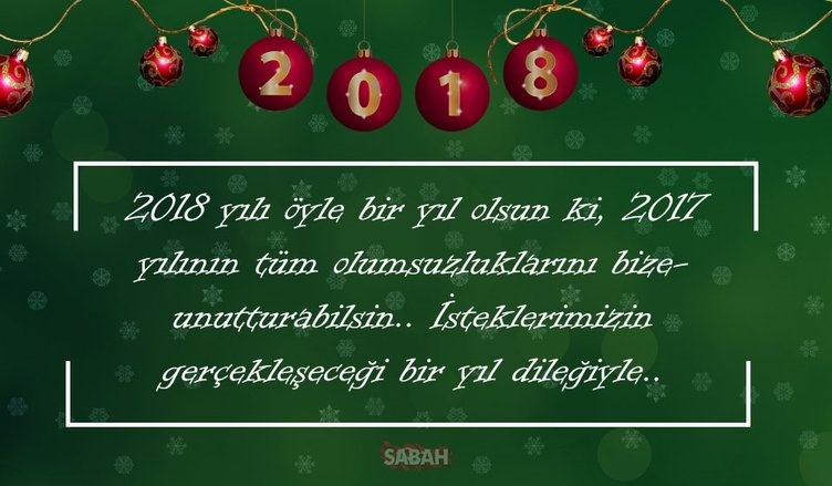 Yeni yıl 2018 ile ilgili yılbaşı mesajları ve sözleri! – Kısa ve uzun 2018 resimli yılbaşı kutlama mesajları