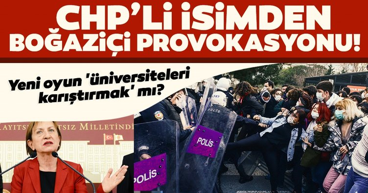 Son dakika | CHP'li isimden Boğaziçi provokasyonu! Yeni oyun 'üniversiteleri karıştırmak' mı?