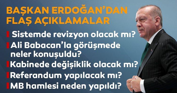 Son Dakika: Başkan Erdoğan son noktayı koydu: 8 aylık hükümet dönemleri kapandı