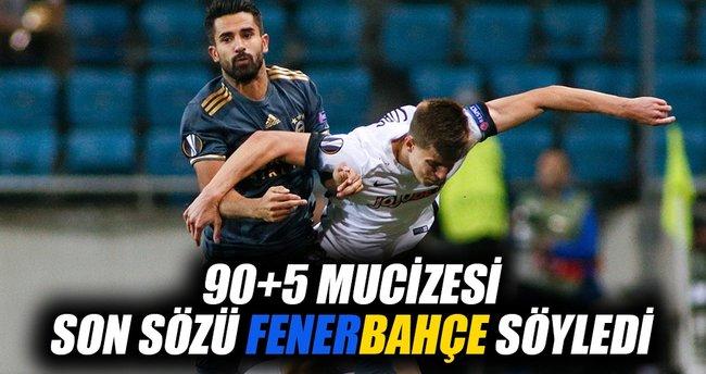 Zorya Luhansk 1-1 Fenerbahçe