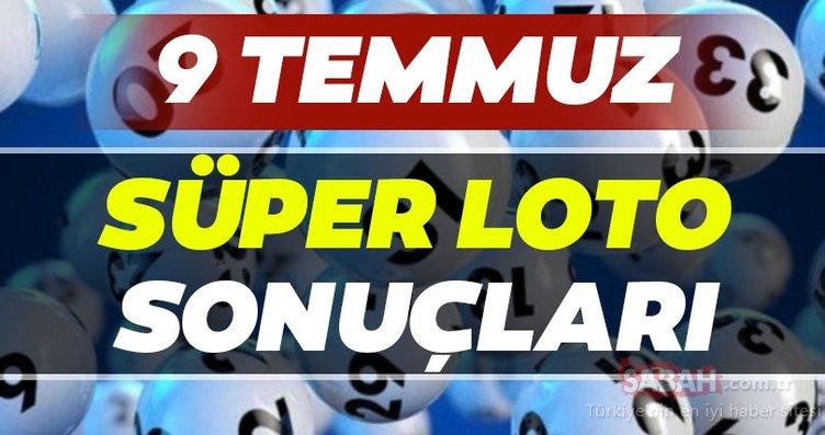 Süper Loto sonuçları belli oldu! Milli Piyango 9 Temmuz Süper Loto çekiliş sonuçları MPİ ile hızlı bilet sorgulama BURADA!