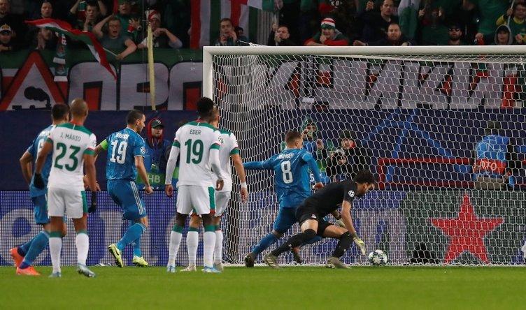 Lokomotiv Moskova - Juventus maçında Cristiano Ronaldo'dan şok tepki! Gol Aaron Ramsey'e yazılınca...