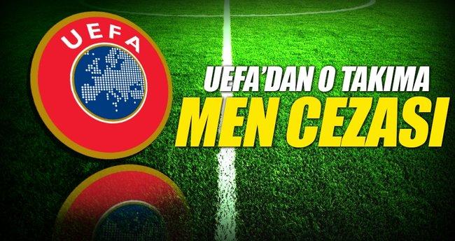 UEFA'dan Partizan'a men cezası