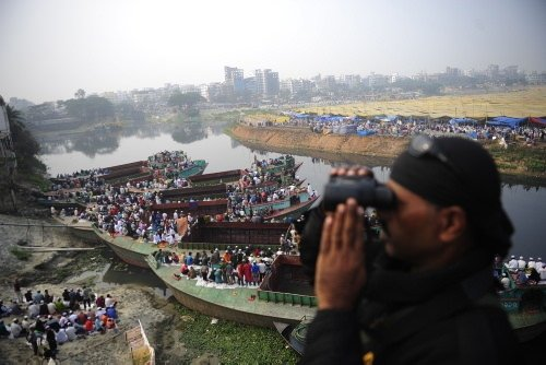 Nehirde rekor buluşma