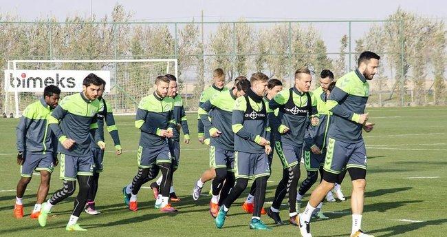 Konyaspor'da Shakhtar mesaisi