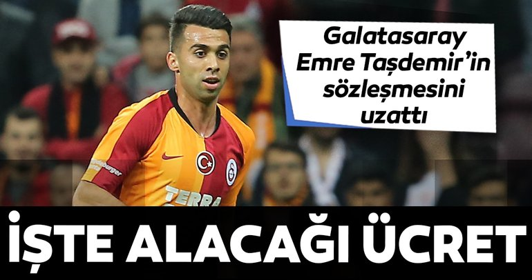 Son dakika: Galatasaray'dan KAP'a Emre Taşdemir bildirimi