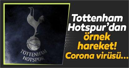 Tottenham Hotspur corona virüsü ile mücadele için stadını açtı