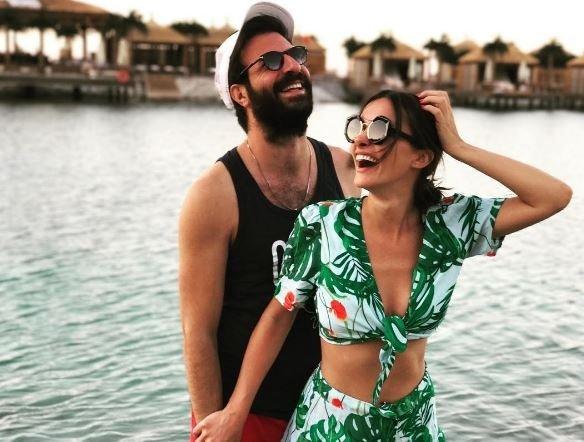 Hande Soral ve nişanlısı nikahtan önce balayına çıktı