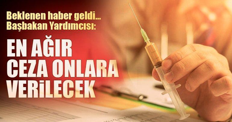 Başbakan Yardımcısı Recep Akdağ açıkladı: Kimyasal hadım geliyor!