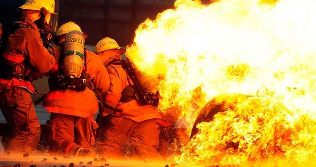 Korkunç yangında bir yılın emeği yok oldu!