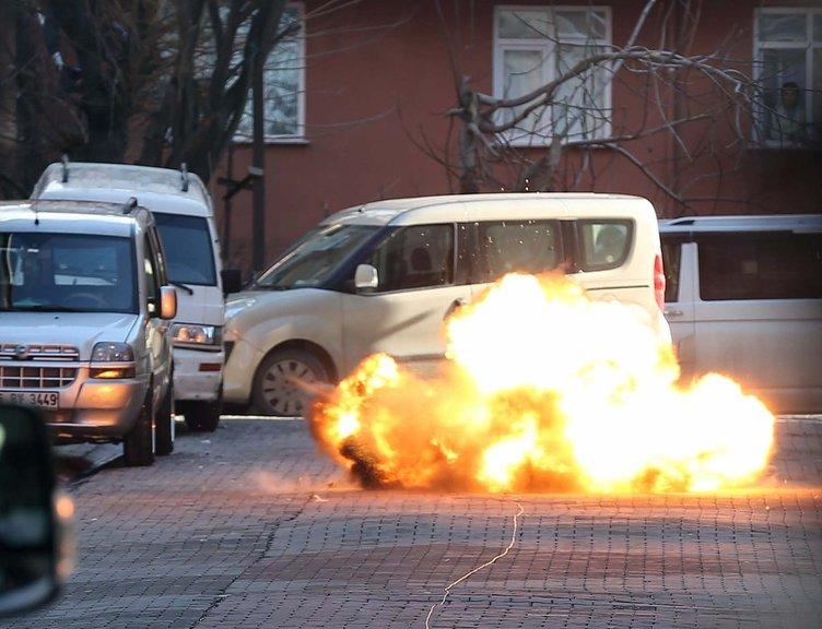 Esenyurt'taki saldırganın bıraktığı el bombası imha edildi