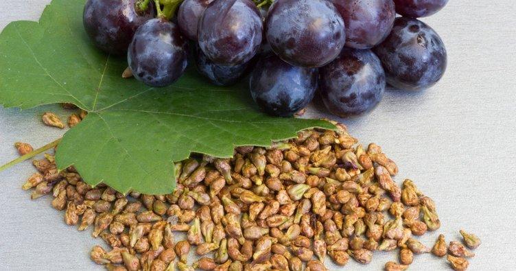 Üzüm çekirdeğinin faydaları nelerdir? İki tane üzüm çekirdeği yutarsanız...