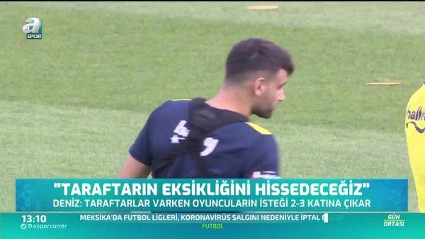 Deniz Türüç: Ziraat Türkiye Kupası'nı kazanmak istiyoruz