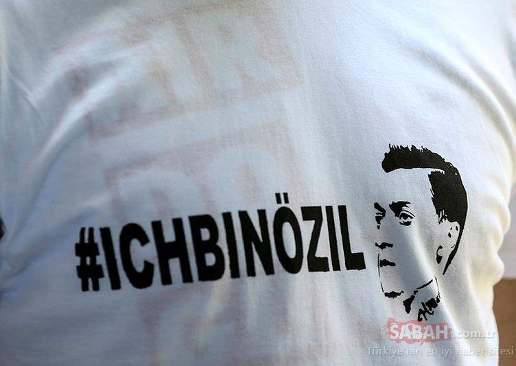 Almanya, Mesut Özil için ayakta