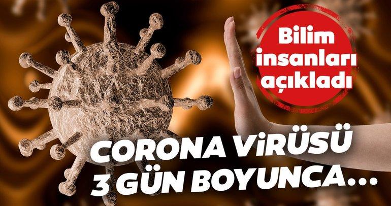 Corona virüsü yüzeyden bulaşıyor mu? Metal, kumaş ve plastikte...