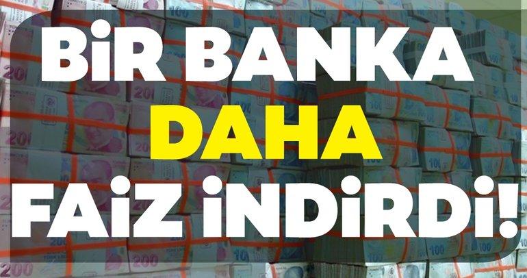 Son dakika haberi: Bir banka daha faiz düşürdü! Vakıfbank, Halkbank, Ziraat Bankası, Akbank, TEB kredi faiz oranları ne kadar?