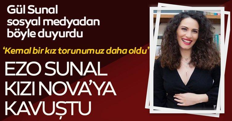 Ali Sunal ile Gül Sunal doğum müjdesini sosyal medyadan sevenlerine böyle duyurdu! Ezo Sunal kızı Nova'ya sonunda kavuştu!