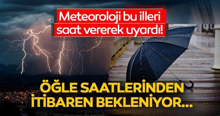 Son dakika haberi: Meteoroloji Genel Müdürlüğü'nden kritik hava durumu uyarısı! İstanbul'da hava durumu nasıl olacak?