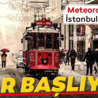 Meteoroloji'den son dakika İstanbul için kar yağışı ve hava durumu uyarısı geldi! MGM'den yarın için kritik uyarı