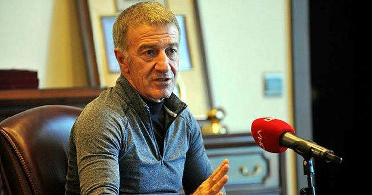 Trabzonspor Başkanı Ahmet Ağaoğlu'ndan bayram mesajı