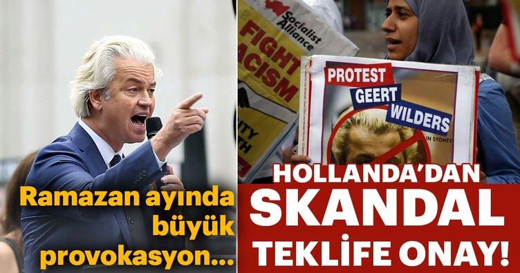 Hollanda'dan skandal karar! Hz. Muhammed için karikatür yarışmasına izin çıktı!