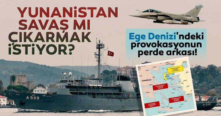 SON DAKİKA | Yunanistan savaş mı çıkarmak istiyor? Egedeki provokasyonun perde arkası...