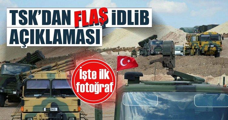 TSK'dan flaş İdlib açıklaması
