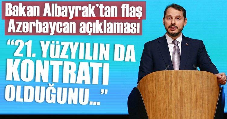 Berat Albayrak: Türkiye, Azerbaycan'ın enerji yatırımlarını büyütmeye devam edecek