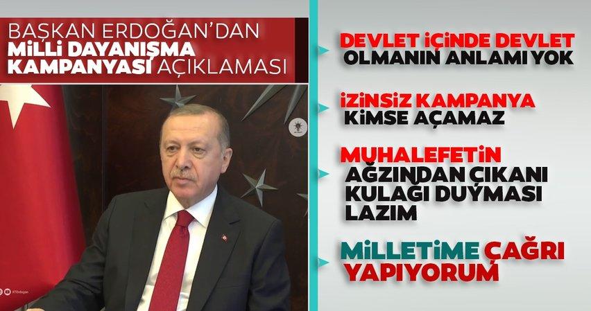 Son dakika haberi: Başkan Recep Tayyip Erdoğan'dan flaş açıklamalar!