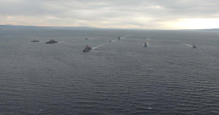 MSB duyurdu: Doğu Akdeniz'de'Fiilî Silah Atış Eğitimleri' icra edildi
