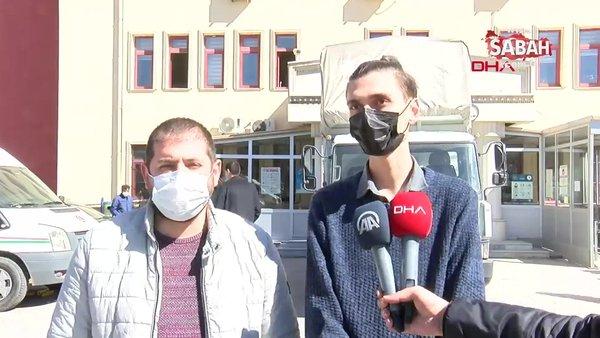 SON DAKİKA: Afyonkarahisar'da saldırıya uğrayan çiğ köfteciden adliye önünde açıklama | Video