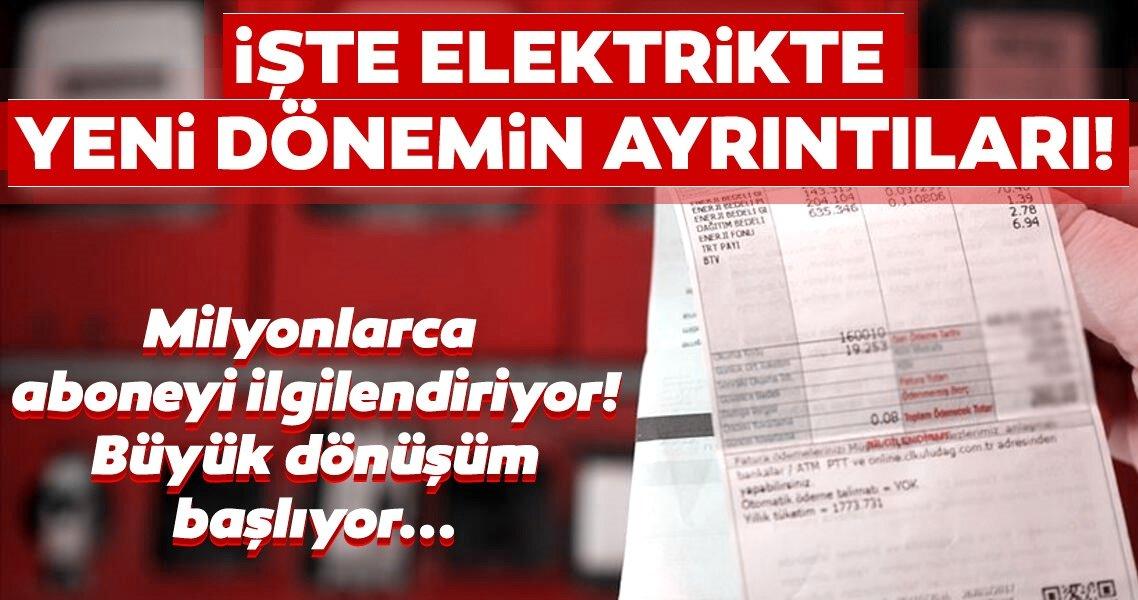 Son dakika haberi | Elektrik faturalarında yeni dönem! EPDK Başkanı yeni düzenlemeleri açıkladı...
