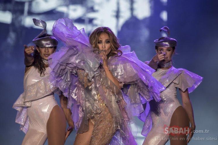 İşte Jennifer Lopez'in konserden kazandığı para! Dudak uçuklattı!