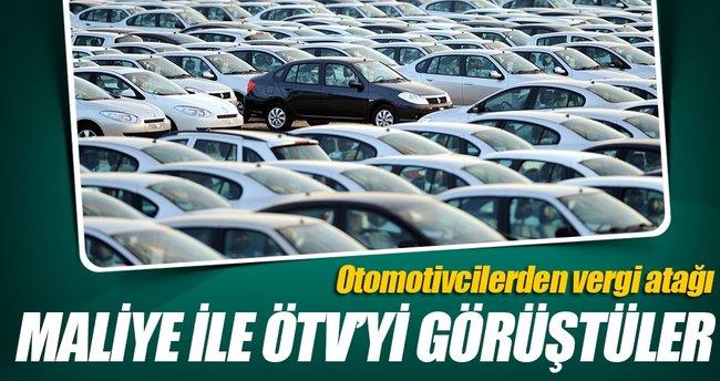 Otomotivciler Bakanlık ile ÖTV düzenlemesini görüştü