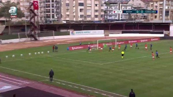 GOL | Hatayspor 0-1 Karacabey Belediyespor