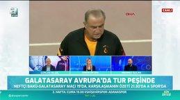 Neftçi - Galatasaray maçı canlı anlatım! Cimbom tur peşinde! Neftçi - Galatasaray maç canlı yayını sonrası özeti A Spor'da! | Video