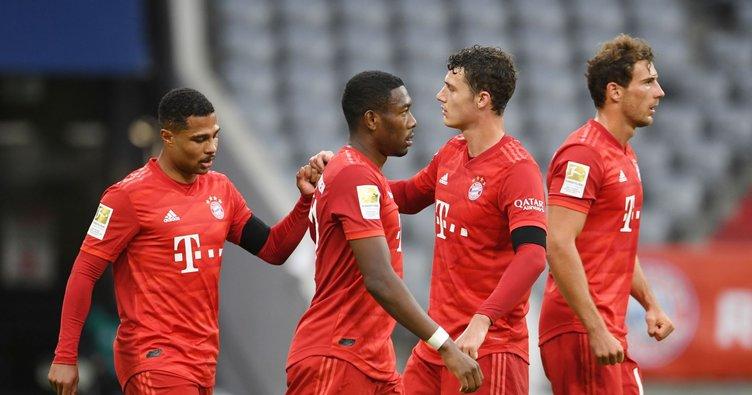 7 gollü maçta Bayern Münih şov yaptı! Bayern Münih 5-2 Eintracht Frankfurt MAÇ SONUCU