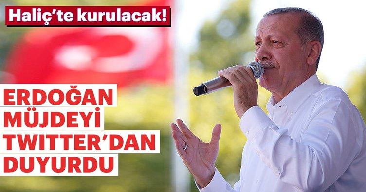 Son dakika: Erdoğan'dan Bilim Merkezi müjdesi