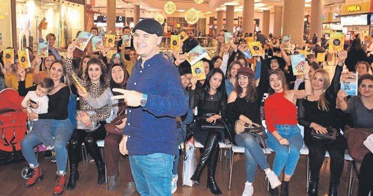 Yazar Yıldırım, Adanalı okurlarıyla D&R'da buluştu