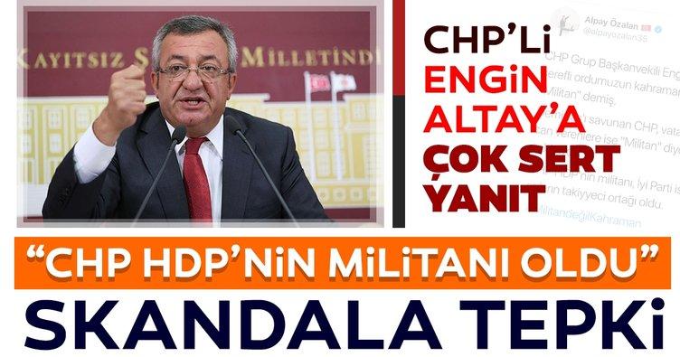 """""""CHP, vatan için can verenlere 'Militan' diyerek saldırıyor"""""""